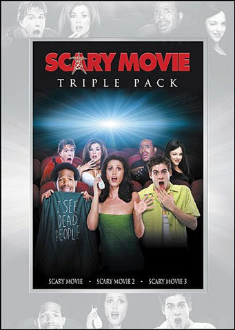 Scary Movie Triple Pack (Scary Movie / Scary Movie 2 / Scary Movie 3) (DVD / Movies) Pre-Owned: Discs, Cases w/ Case Art, and Box