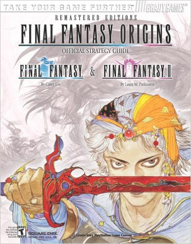 Final Fantasy Origins: Official BradyGames Strategy Guide - Pre-Owned