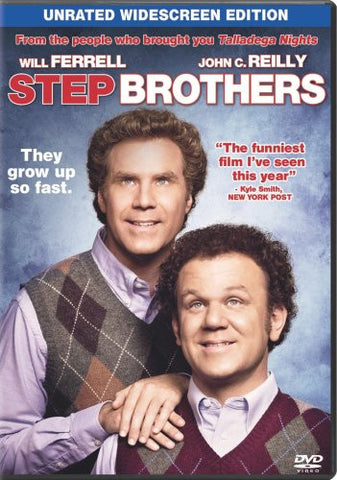 Step Brothers (Single-Disc Unrated Edition) (2008) (DVD Movie) Pre-Owned: Disc(s) and Case
