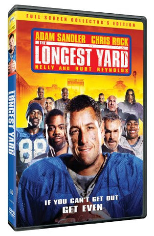 The Longest Yard (Full Screen Edition) (2005) (DVD Movie) Pre-Owned: Disc(s) and Case