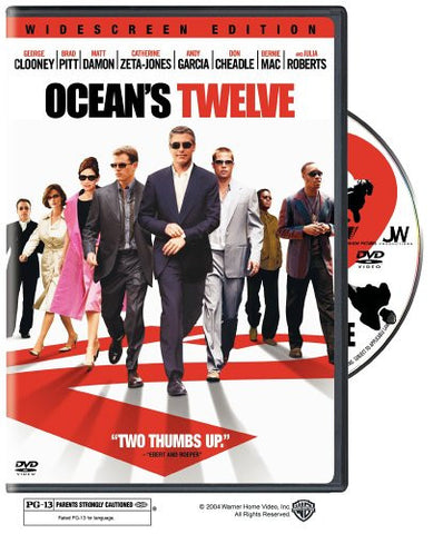 Ocean's Twelve (2005) (DVD Movie) Pre-Owned: Disc(s) and Case