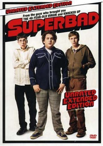 Superbad (Unrated Widescreen Edition) (2007) (DVD Movie) Pre-Owned: Disc(s) and Case