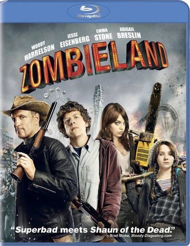 Zombieland (2009) (Blu Ray / Movie) Pre-Owned: Disc(s) and Case