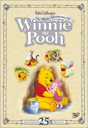 The Many Adventures of Winnie the Pooh (25th Anniversary Edition) (1977) (DVD / Kids Movie) Pre-Owned: Disc(s) and Case