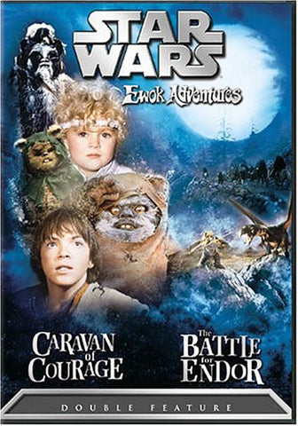 Star Wars Ewok Adventures - Caravan of Courage / The Battle for Endor (1985) (DVD Movie) Pre-Owned: Disc(s) and Case