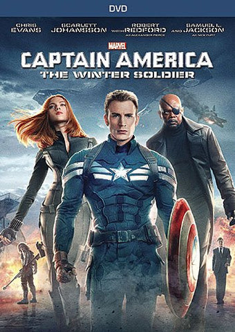 Captain America: The Winter Soldier (2014) (DVD Movie) Pre-Owned: Disc(s) and Case