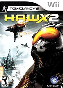 H.A.W.X. 2 (Tom Clancy's) (Nintendo Wii) Pre-Owned: Game, Manual, and Case