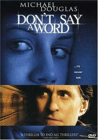 Don't Say a Word (2001) (DVD Movie) Pre-Owned: Disc(s) and Case
