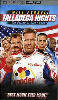 Talladega Nights - The Ballad of Ricky Bobby (PSP UMD Movie) Pre-Owned: Game and Case