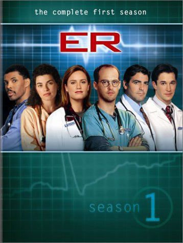 ER: Season 1 (2003) (DVD / Season) Pre-Owned: Discs, Case, and Box