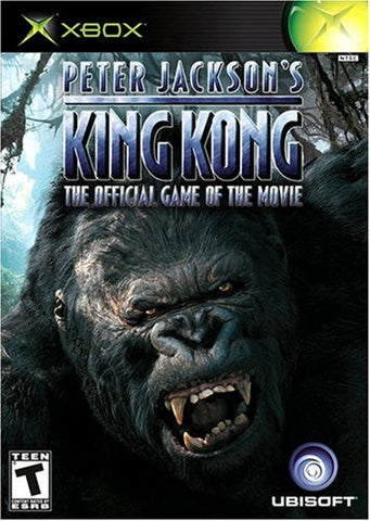 King Kong the Movie (Peter Jackson's) (Xbox) Pre-Owned: Game, Manual, and Case
