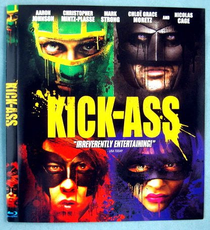 Kick-Ass (2010) (Blu Ray / Movie) Pre-Owned: Disc(s) and Case