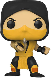 Games: #537 Mortal Kombat - Scorpion (Funko POP!) NEW