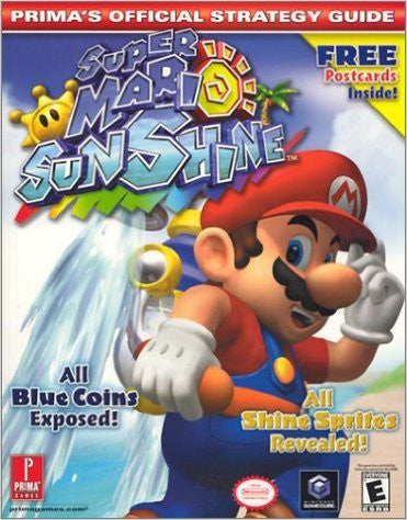 Super Mario Sunshine: Prima's Official Strategy Guide with Postcards - Pre-Owned