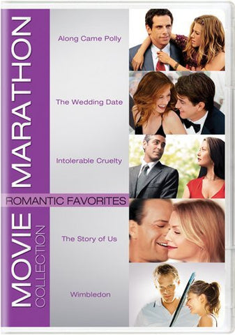 Romantic Favorites (Along Came Polly /  The Wedding Date / Intolerable Cruelty /  The Story of Us / Wimbledon) (1999) (Movie Marathon Collection)