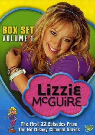 Lizzie McGuire Box Set: Volume One - Discs 1 and 2 (2001) (DVD / Kids Movie) Pre-Owned: Disc(s) and Case