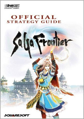 Saga Frontier (Official BradyGames Strategy Guide) Pre-Owned