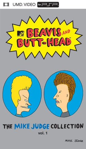 Beavis and Butt-head - The Mike Judge Collection, Vol. 1 (PSP UMD Movie) Pre-Owned: Disc and Case