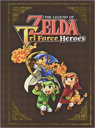 The Legend of Zelda: Tri Force Heroes Collector's Edition Guide (Strategy Guide / Hardcover) NEW