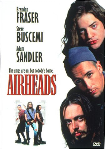 Airheads (1994) (DVD Movie) Pre-Owned: Disc(s) and Case