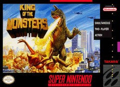 King of the Monsters (Super Nintendo) Pre-Owned: Game, Manual, and Box