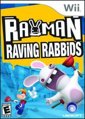 Rayman Raving Rabbids (Nintendo Wii) Pre-Owned: Game, Manual, and Case