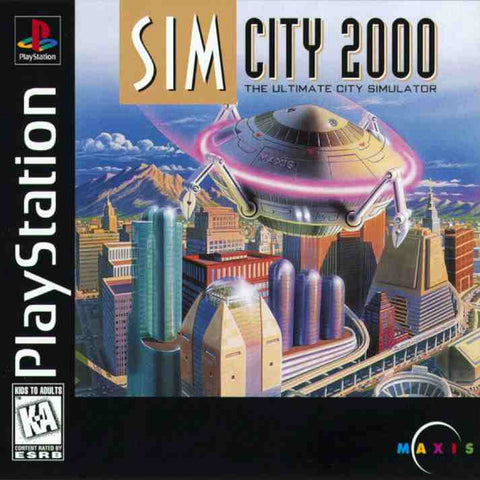 SimCity 2000 (Playstation 1 / PS1) Pre-Owned: Game and Case