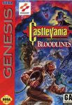 Castlevania Bloodlines (Sega Genesis) Pre-Owned: Game, Manual, and Case