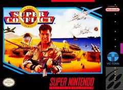 Super Conflict (Super Nintendo) Pre-Owned: Cartridge Only
