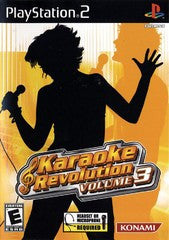 Karaoke Revolution Volume 3 (Playstation 2 / PS2) Pre-Owned: Game, Manual, and Case