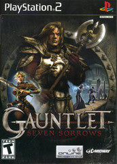 Gauntlet Seven Sorrows (Playstation 2 / PS2) Pre-Owned: Game, Manual, and Case