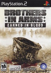Brothers in Arms Earned in Blood (Playstation 2 / PS2) Pre-Owned: Game, Manual, and Case