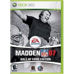 Madden NFL 07 Hall of Fame Edition (Xbox 360) Pre-Owned: Game, Manual, and Case