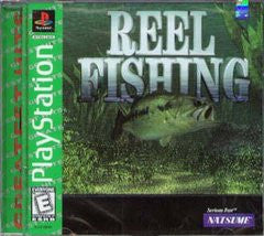 Reel Fishing (Playstation 1) Pre-Owned: Game, Manual, and Case