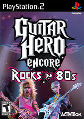 Guitar Hero Encore Rocks the 80's (Playstation 2 / PS2) Pre-Owned: Game, Manual, and Case