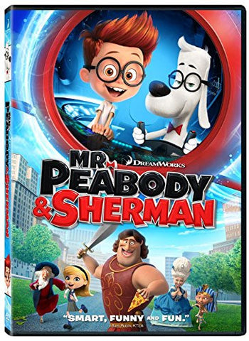 Mr. Peabody & Sherman (2014) (DVD / Kids) Pre-Owned: Disc(s) and Case
