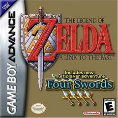 The Legend of Zelda Link to the Past - Four Swords (Nintendo Game Boy Advance) Pre-Owned: Cartridge, Manual, and Box