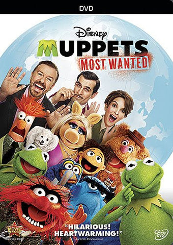 Muppets Most Wanted (2014) (DVD / Kids) Pre-Owned: Disc(s) and Case
