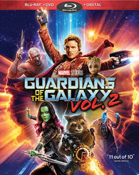 Guardians of the Galaxy Vol. 2 (Blu Ray + DVD Combo) NEW