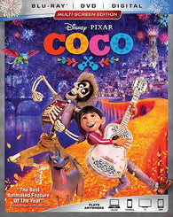 COCO (Blu Ray Only) Pre-Owned: Disc and Case