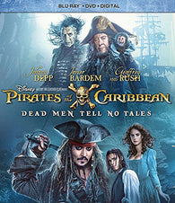 Pirates Of The Caribbean: Dead Men Tell No Tales (Blu Ray Only) Pre-Owned