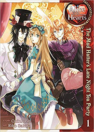 Alice in the Country of Hearts: The Mad Hatter's Late Night Tea Party Vol. 1 (Seven Seas) (Paperback) Pre-Owned