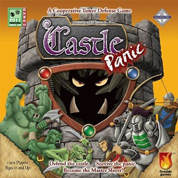 Castle Panic (Card and Board Games) NEW