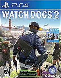 Watchdogs 2 (Playstation 4) NEW
