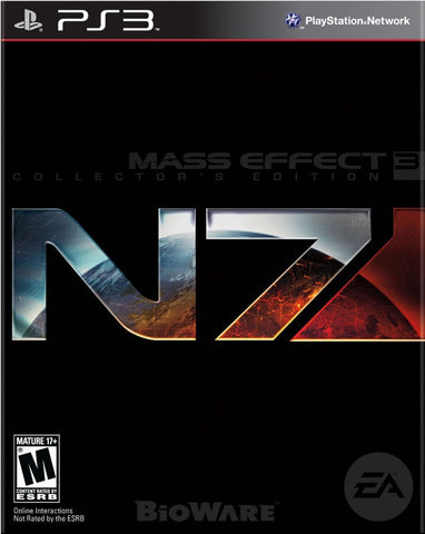 Mass Effect 3 N7 Collector's Edition (Playstation 3) NEW
