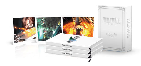 FINAL FANTASY Box Set (FFVII, FFVIII, FFIX): Official Game Guides Hardcover by Prima Guides - NEW