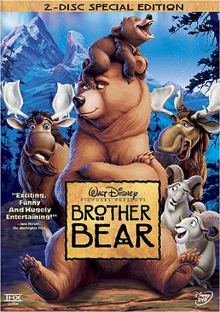 Brother Bear (Two-Disc Special Edition) (2003) (DVD / Kids Movie) Pre-Owned: Disc(s) and Case