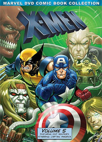 X-Men: Volume Five (Marvel DVD Comic Book Collection)  (DVD) Pre-Owned