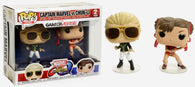 Funko POP! Games 2 Pack - Gamerverse - Marvel Vs. Capcom: Infinite - Captain Marvel Vs Chun-Li  - NEW