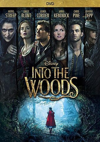 Disney's - Into the Woods (DVD Movie) Pre-Owned: Disc(s) and Case 1